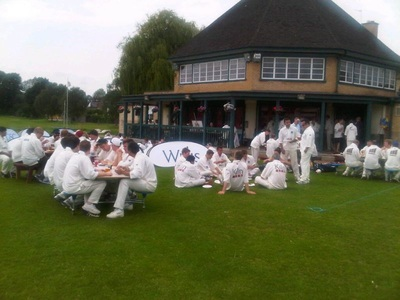 Cricket Teas at Dulwich Sports Ground London