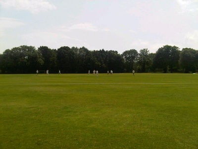 Lovely day for cricket at Dulwich Sports Ground London