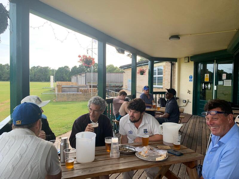 After match drinks at Dulwich Sports Ground London (DSG)