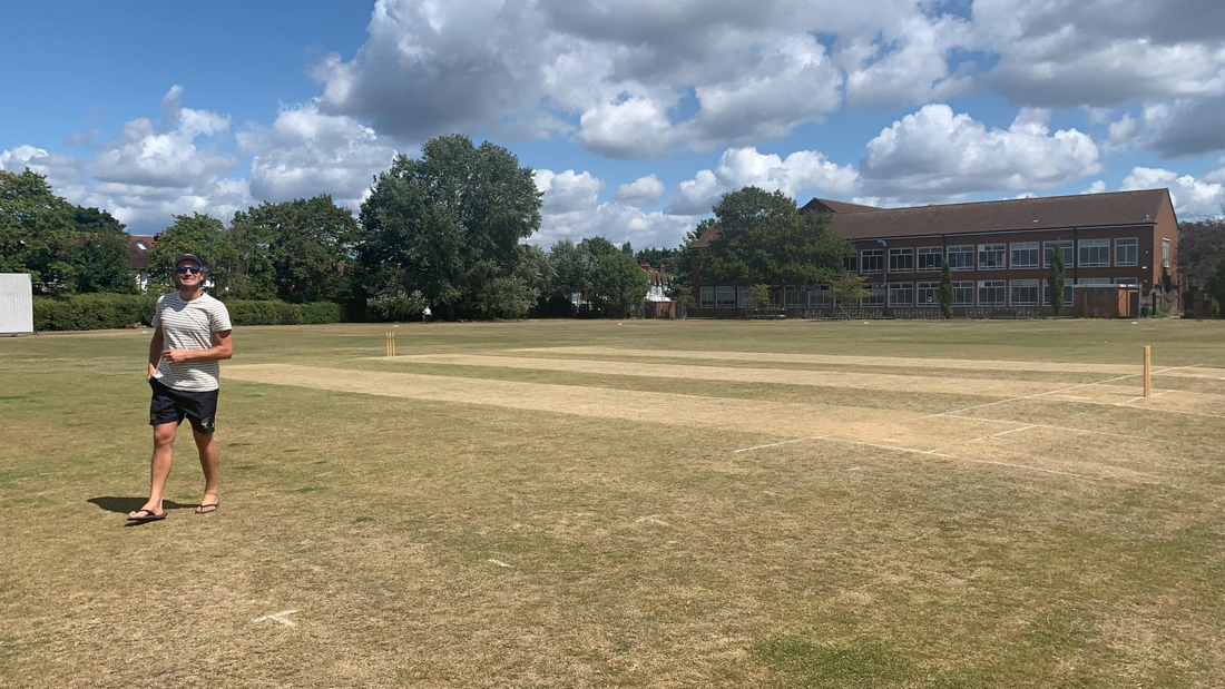It's hot at at Dulwich Sports Ground London (DSG)