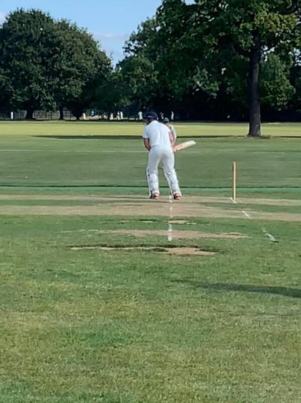 In the stance at Dulwich Sports Ground London (DSG)