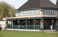 The lovely pavillion at Dulwich Sports Ground London (DSG)