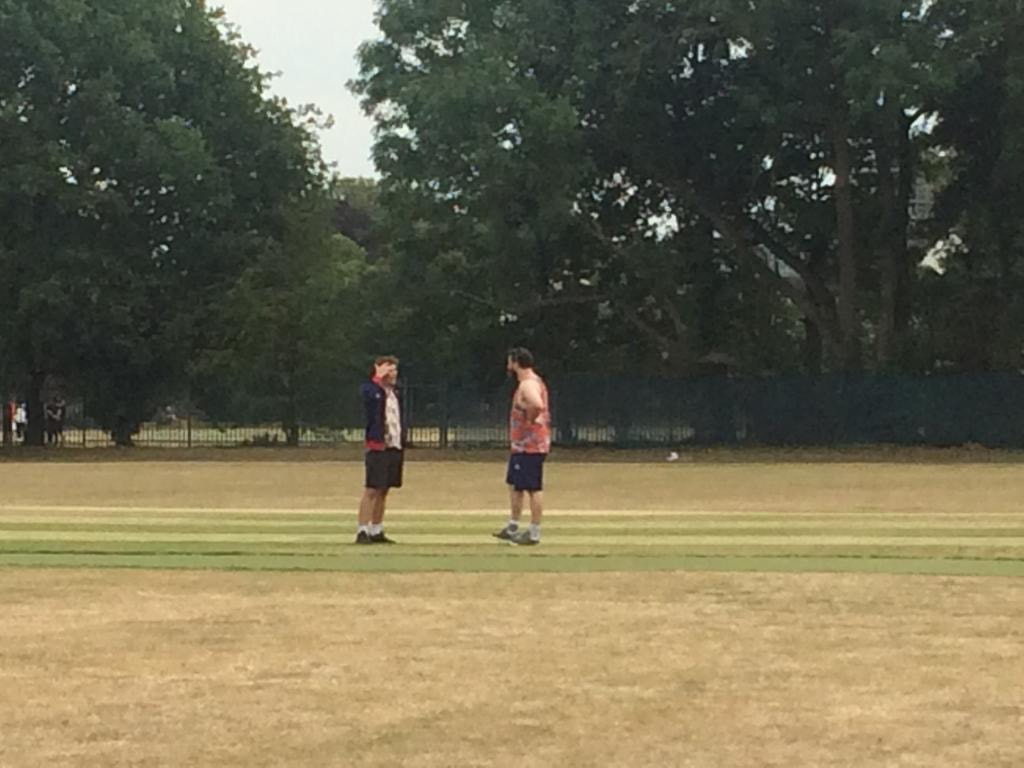 Tossing again at Dulwich Sports Ground London (DSG)